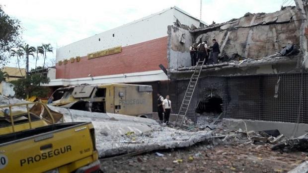 Al menos 10 detenidos en Brasil por millonario asalto perpetrado en Paraguay