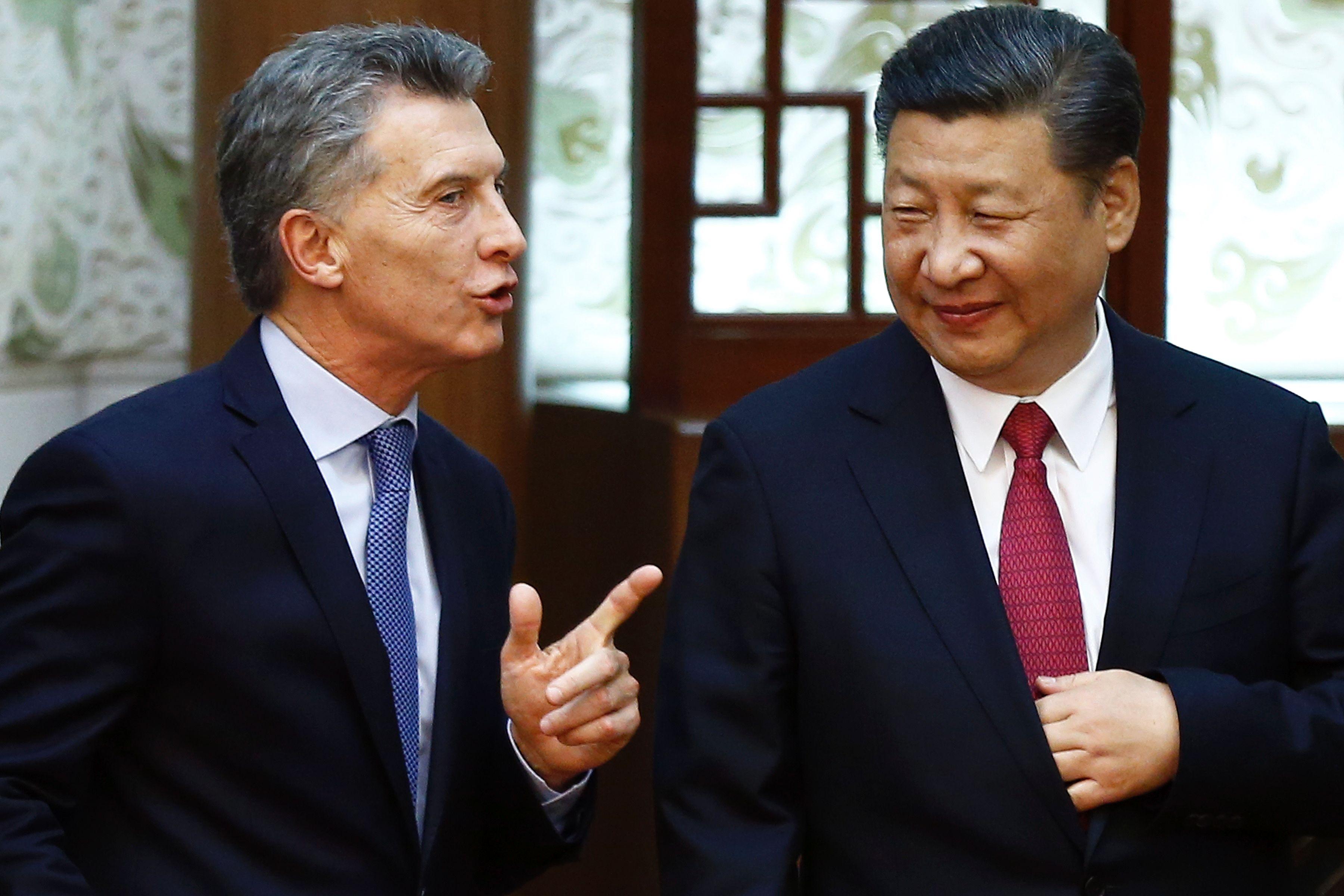 Uñac acompañó a Macri en la firma de convenios por 15 mil millones de dólares con el presidente chino