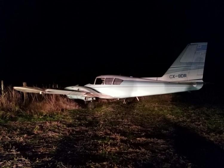 Derriban una avioneta narco en San Antonio de Areco