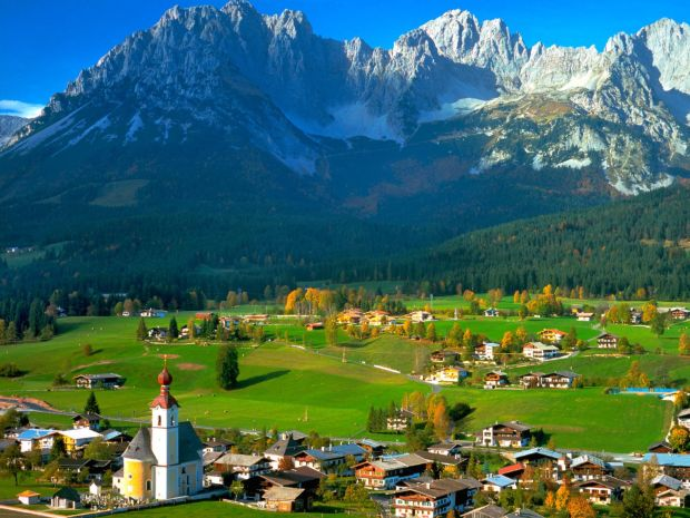 Hallo, Austria, corazón del continente europeo