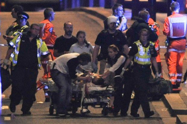 Atentados terroristas en Londres dejaron siete muertos y 48 heridos