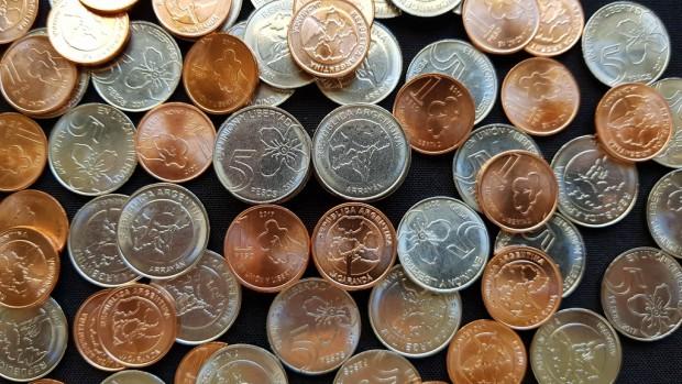 Llegan las nuevas monedas