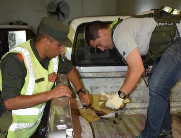 Interceptaron una camioneta cargada con marihuana en las afueras de Ituzaingó