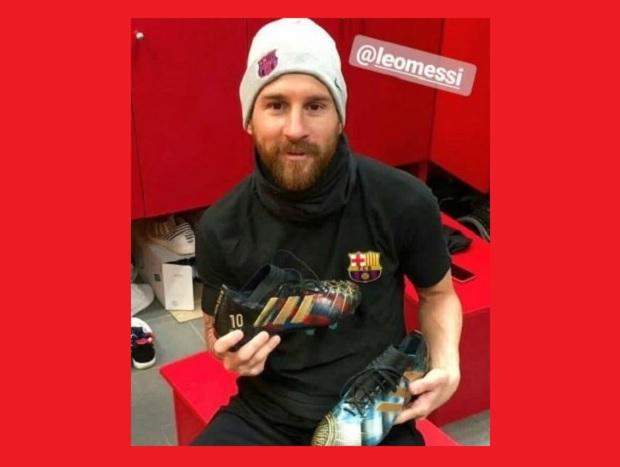 Los botines de Messi que causan furor en la web