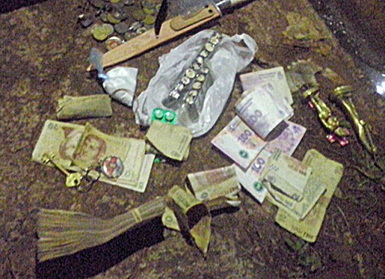 Cayó con cocaína y más de 20 mil pesos