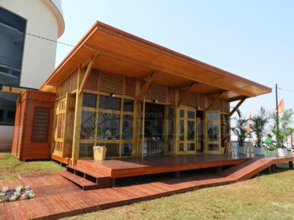 Peligra f brica de casas de madera en misiones primera edicion - Fabrica de casas de madera ...