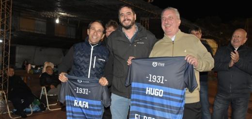 El gobernador Hugo Passalacqua, participó de la jornada deportiva que se realizó el sábado.