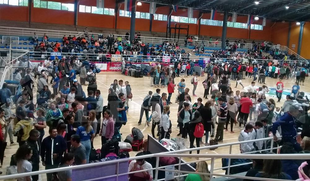 Más de 750 correntinos rumbo a los Nacionales Evita