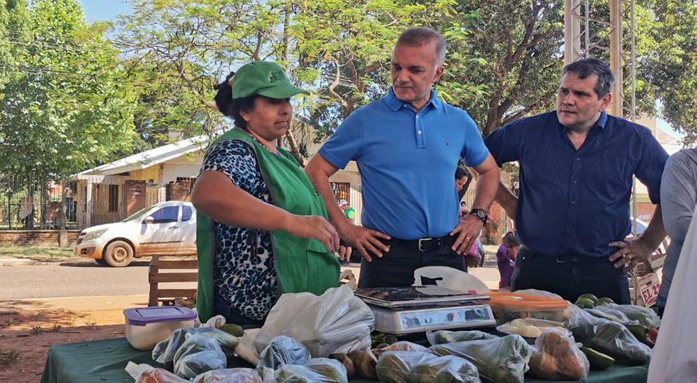 Se entregaron los tickets en la Feria Franca de Miguel Lanús - Primera Edicion