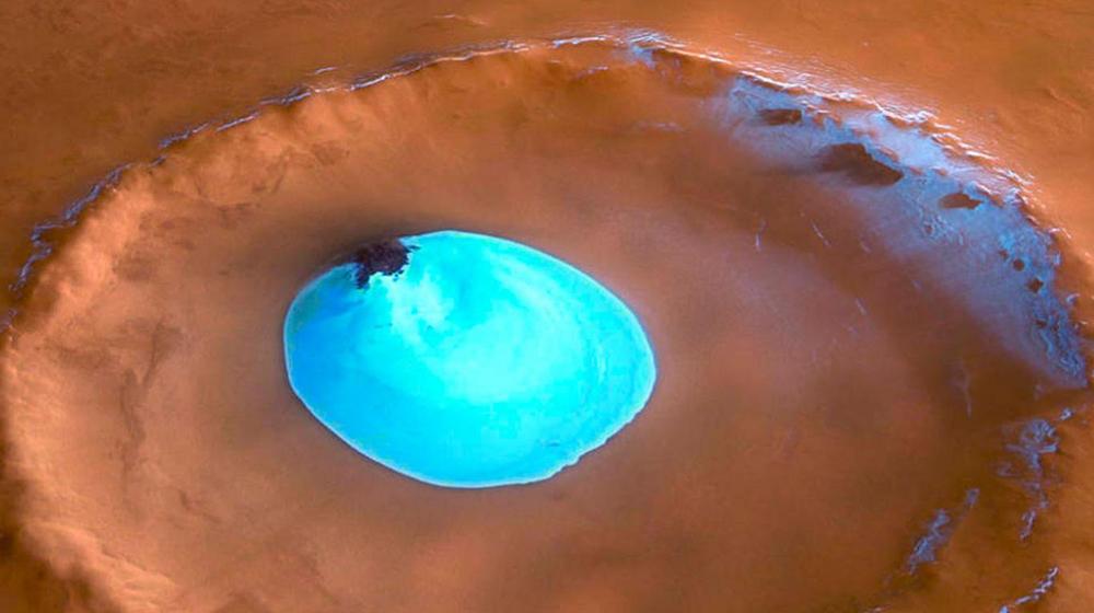 Revelaron que Marte pierde su agua contenida rápidamente