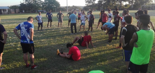 Liga Posadeña de Futbol - Santa Ana ya entrena pensando en temporada en la División C