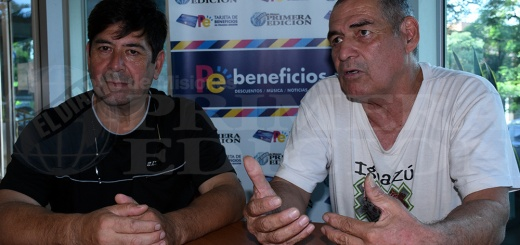 Cámara de Boxeo de Misiones - Mario Ramírez y Raúl Escalante hablaron acerca de este proyecto