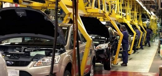 vehículos - linea de producción de autos