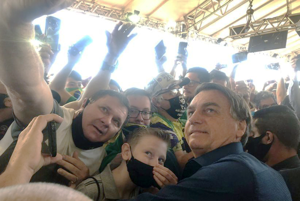Bolsonaro - Foz do Iguazú