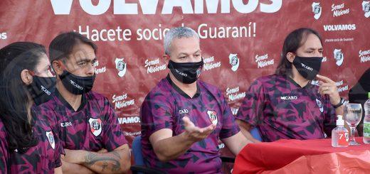 Guaraní presentó a su flamante Consejo de Fútbol